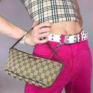 Gucci Monogram Classic Pochette Handbag